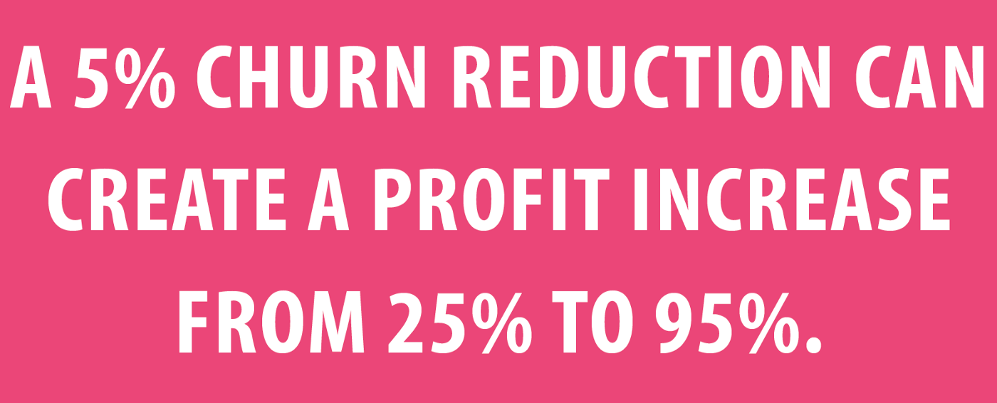 Churn reduction