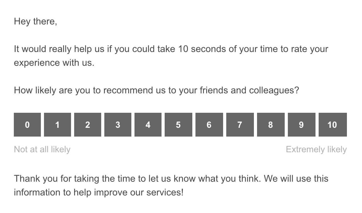 SatisMeter email