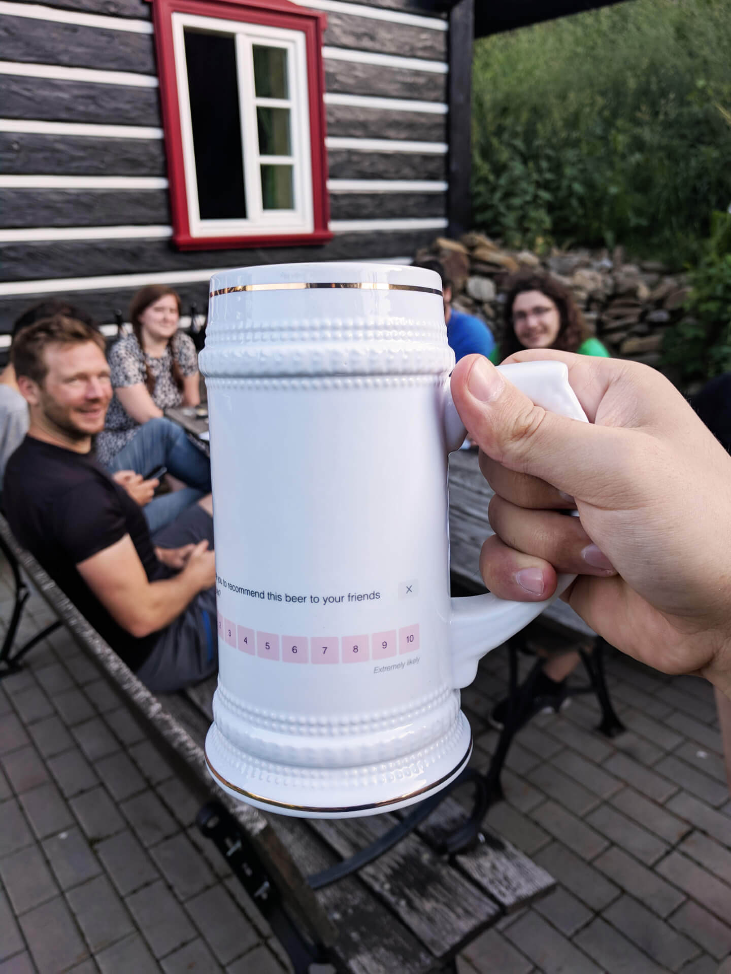SatisMeter team NPS mug